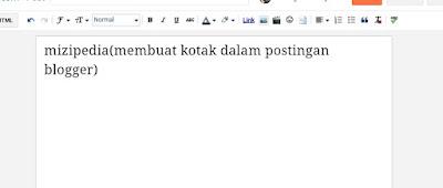 Cara mudah buat kotak script didalam blogspot