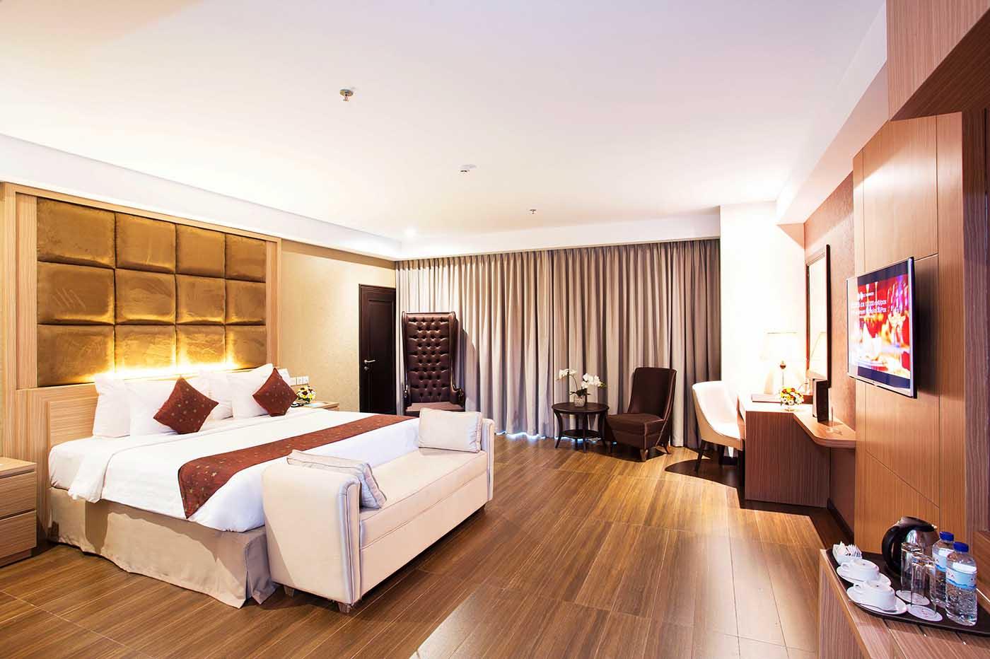 TARA Hotel yang simpel dan elegant di Kota Yogyakarta Indonesia