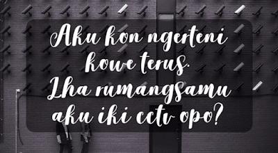 Kata-Kata Marah Kecewa Bahasa Jawa