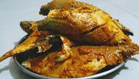 Mackerel bangda fish coated with Mixture for bangda Mackerel fish Tawa fry Recipe