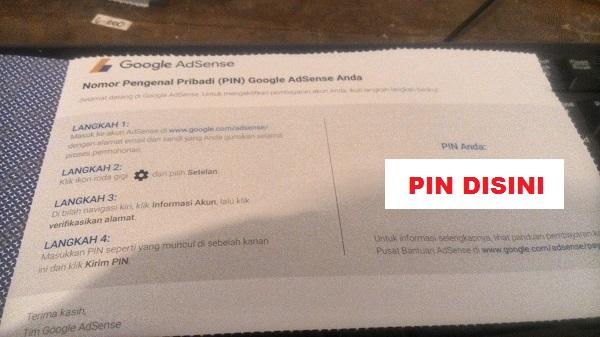 Apa Itu Pin Google Adsense? Apa Gunanya Bagi Publisher?
