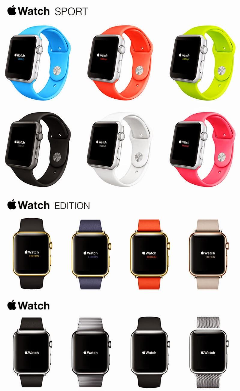 Apple Watch Mockups Kit