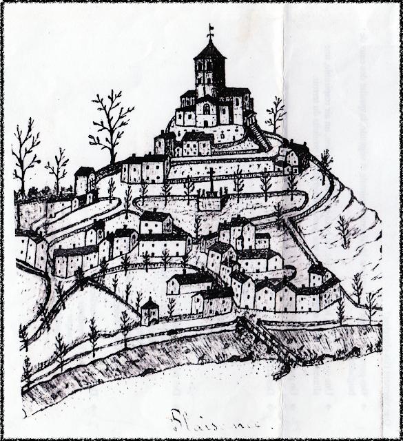 Plaisance, une bastide et une église