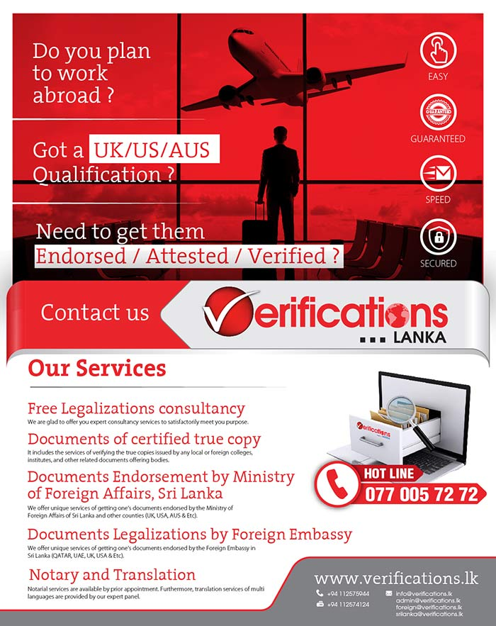 Our aim is to simplify the process of verifying (checking) your document of any kind such as educational documents, incorporated certificates, foreign ministry endorsement, documents proofing one's identity and etc.