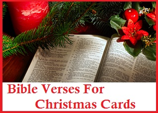 Christmas thank you messages bible verses for christmas cards m4hsunfo