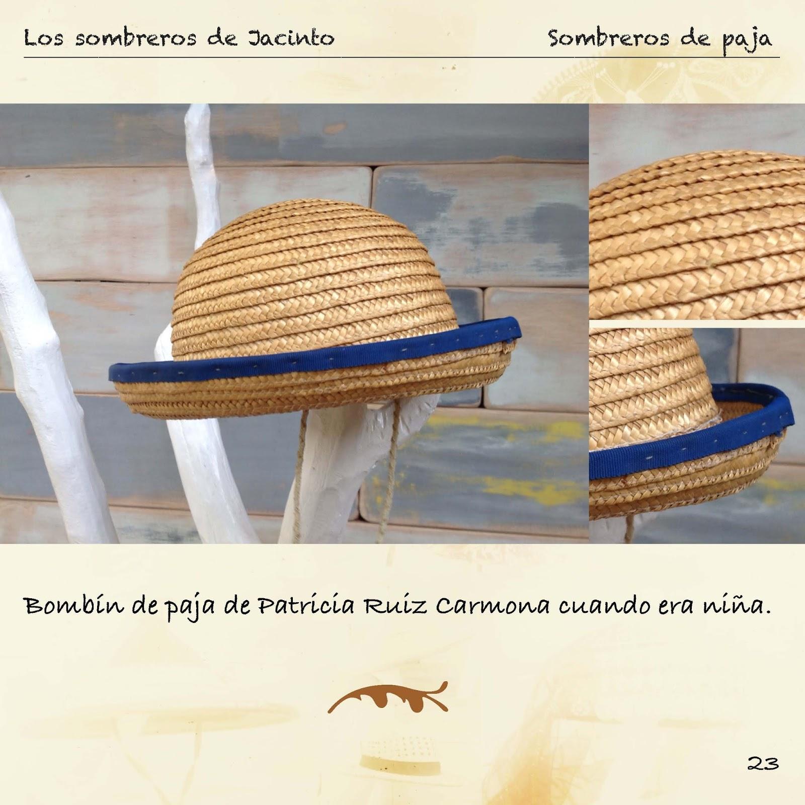 Asimismo se hace una pequeña descripción de la procedencia del sombrero. Se  han recopilado sombreros de las procedencias más ... 97fbcefb44f