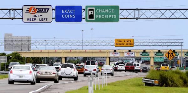 Pedágios com o carro alugado em Miami
