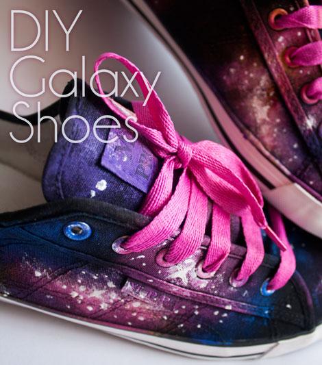 Mirella Design Galaxy Schuhe