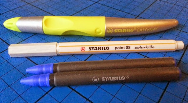 Stabilo EASYOriginal review Beginner writer specially shaped pen