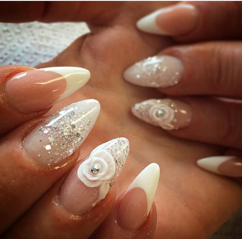 Wedding Nail Art Design Ideas Part 1 Glowlicious A Beauty