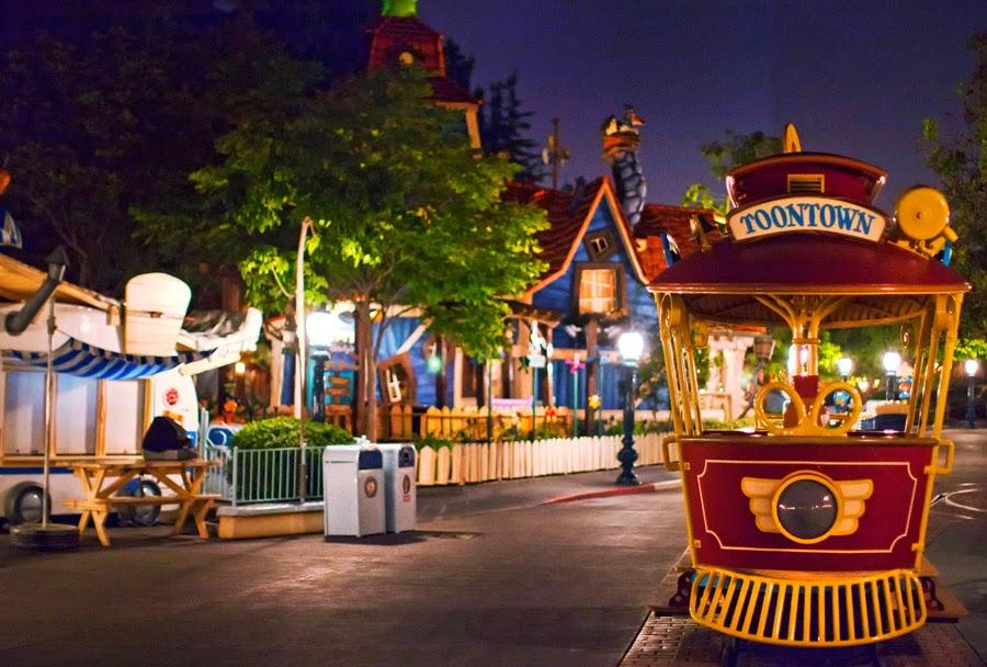 Mickey's Toontown na Disney da Califórnia