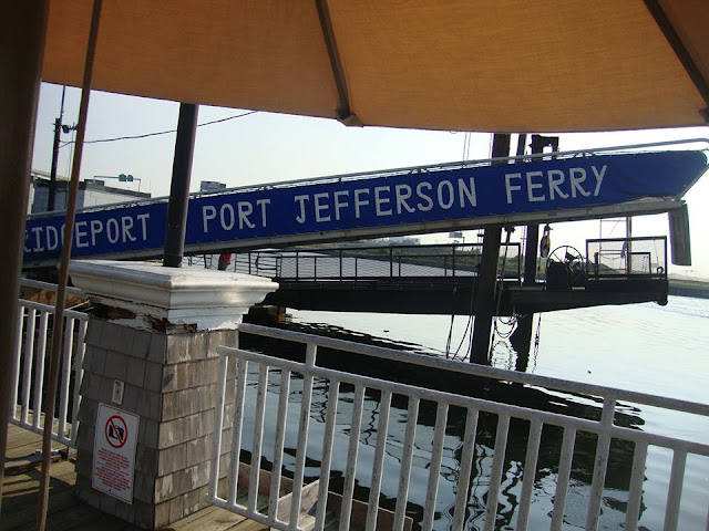 Bridgeport Ferry to Port Jefferson