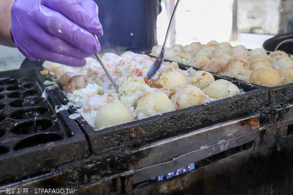 愿心燒素食章魚燒行動餐車|多種口味可選擇|全台夜市流浪的小吃美食