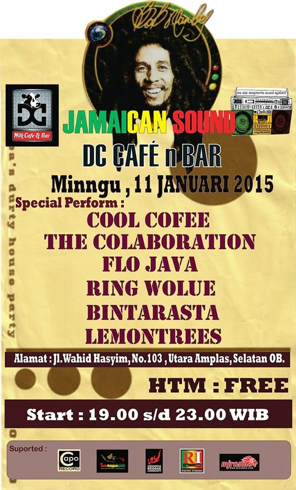 Event : Jamaican Sound DC CAFE n BAR
