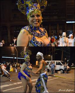 Desfile Inaugural del Carnaval. Uruguay. 2017 Comparsa Integración