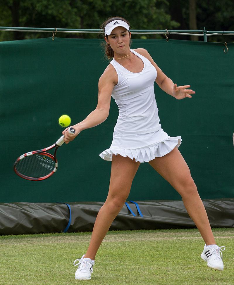 Women tennis players uniform mishaps 7