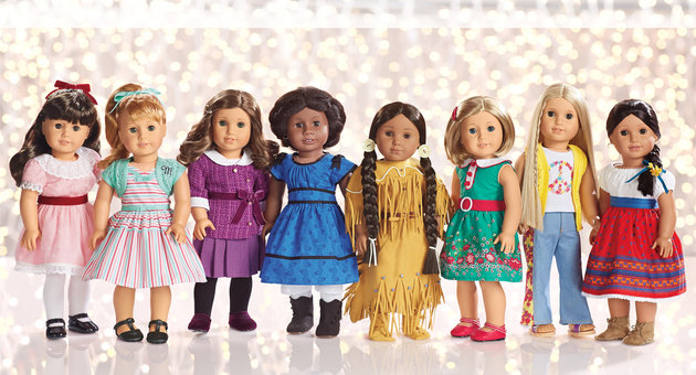 This Christmas treat your kid with the real American Girl dolls