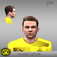 PES 6 Faces Mario Götze by Gabo Facemaker