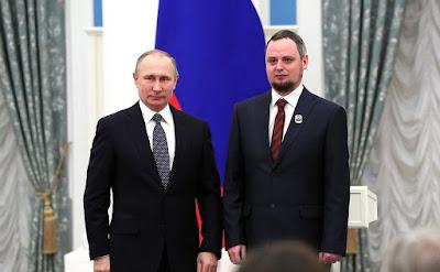 Vladimir Putin, Dmitriy Blau.