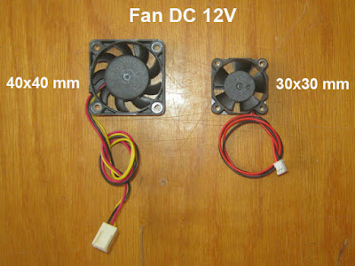 Fan 40*40mm 30*30mm DC 12V