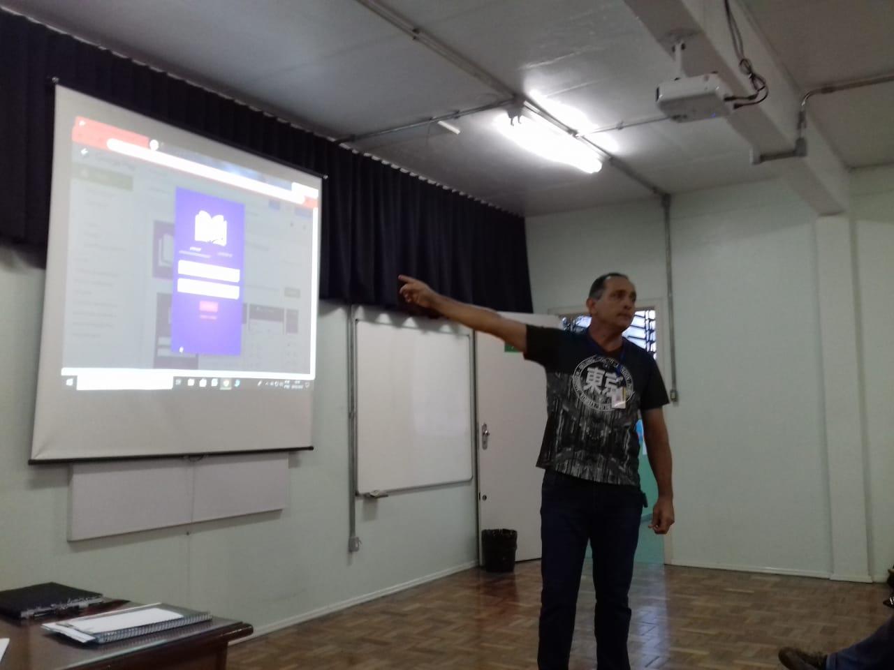Pedagógico 06 CRE - Santa Cruz do Sul / RS: App ISE ESCOLA 2019