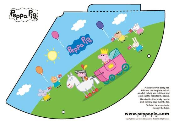Amato Festa a tema le decorazioni per Peppa Pig ER75