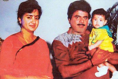 Ambareesh withson and wife