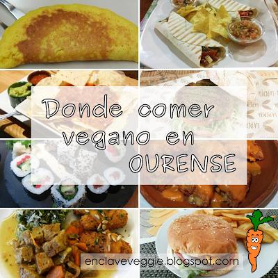 Donde comer vegano en Ourense