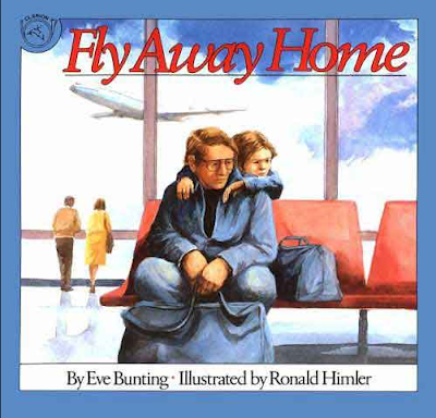 READ ALOUD: This amazing and haunting story is about a boy and his dad who live in an airport. They have learned to remain hidden within the busy place. Your students will be mesmerized as they become part of this effort to just fly away home.