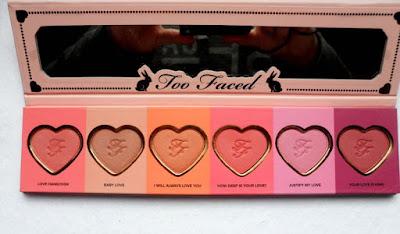 Too Face Love Flush Blush Wardrobe