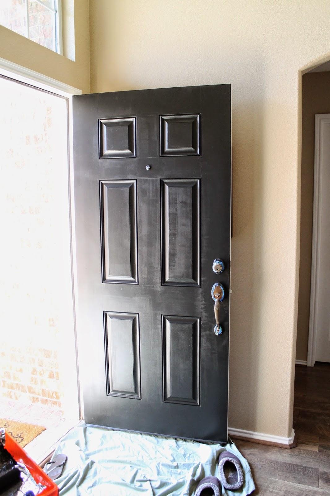 Tucker Up DIY  Painted Front Door