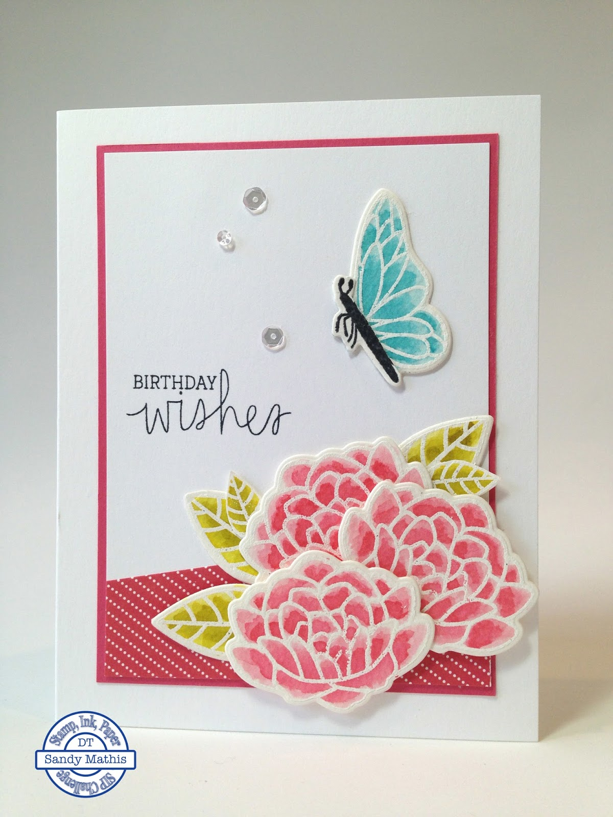 Stamp with Sandy: Flutter By, SIP11, FM222 & STB