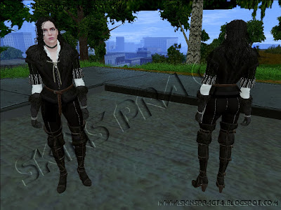 GTA SA - Skin Yennefer Default From The Witcher 3: Wild Hunt
