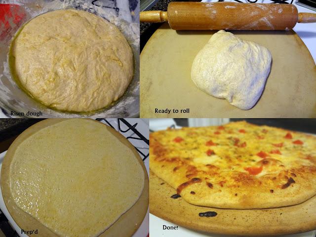 Whole Wheat, Thin Pizza Crust