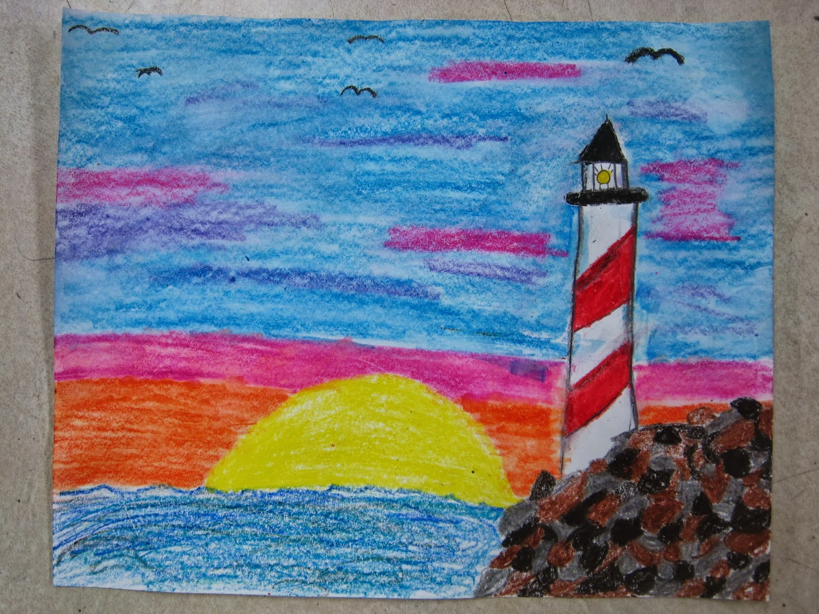 4th And 5th Grade Lighthouses