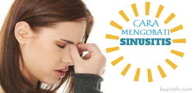 Buat Info - Cara Cepat Mengobati Sinusitis Tanpa Obat-obatan
