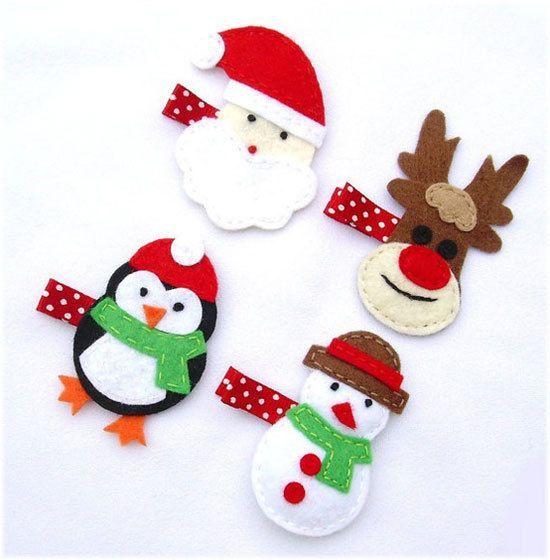 9 modelos de accesorios navide os para el cabello de las - Accesorios navidenos para decorar ...