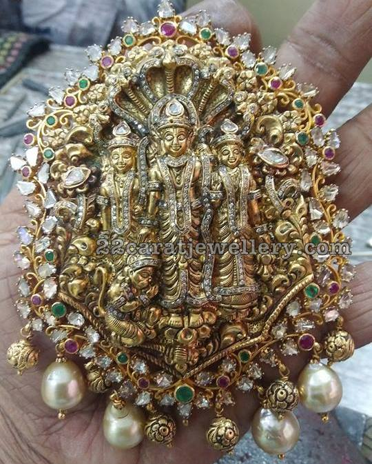 Heavy Ram Lakshman Pendant