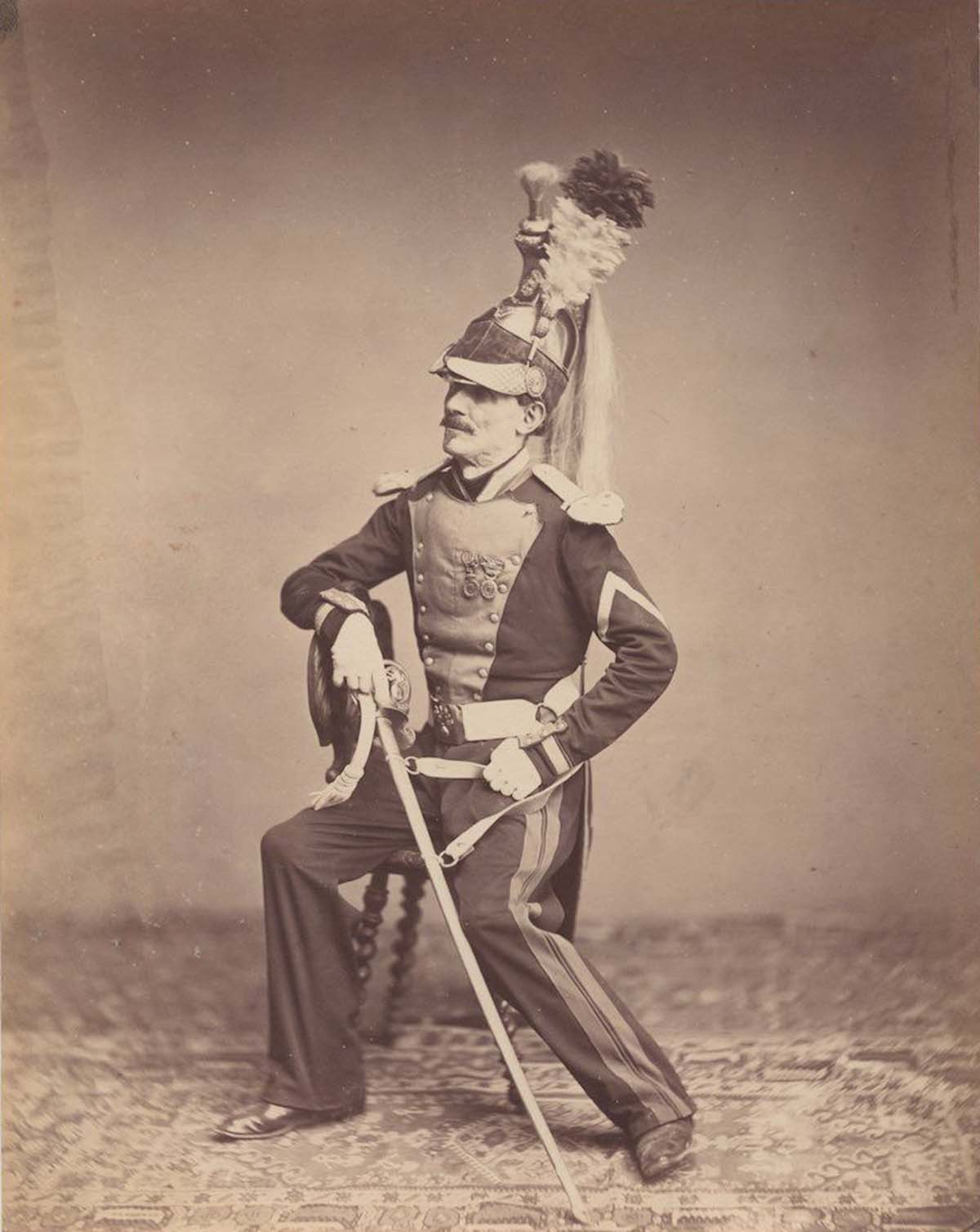 Monsieur Mauban of the 8th Dragoon Regiment of 1815.