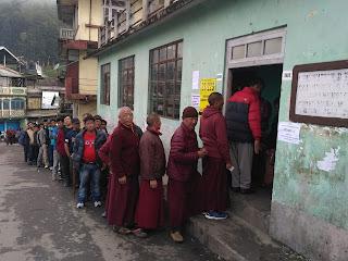 Municipality election in Kalimpong Darjeeling Kurseong Mirik