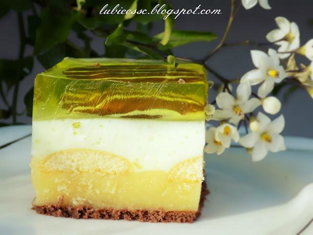 cytrynowiec ciasto bez pieczenia na herbatnikach