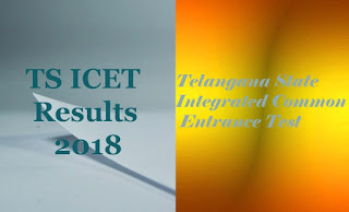 TS ICET 2018 Result | ICET Results 2018 | ICET 2018 Results | ICET Result 2018