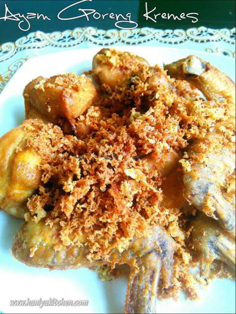 Resep Ayam Goreng Kremes Enak