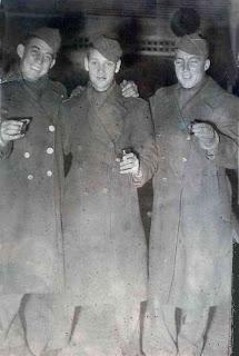 Bob Daniels, Harold Roy, Bob Chisholm at Howdy Club, NY