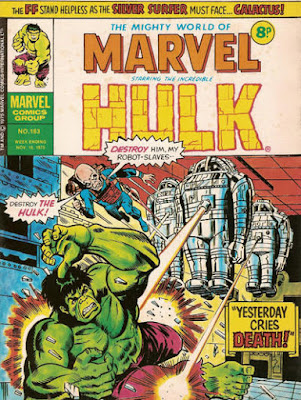 Mighty World of Marvel #163. Hulk vs Gremlin