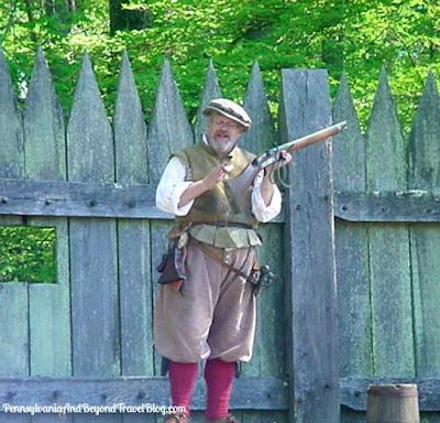Jamestown Settlement in Virginia