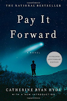 Pay It Forward a novel by Catherine Ryan Hyde, literary fiction, random acts of kindness, winter reading list