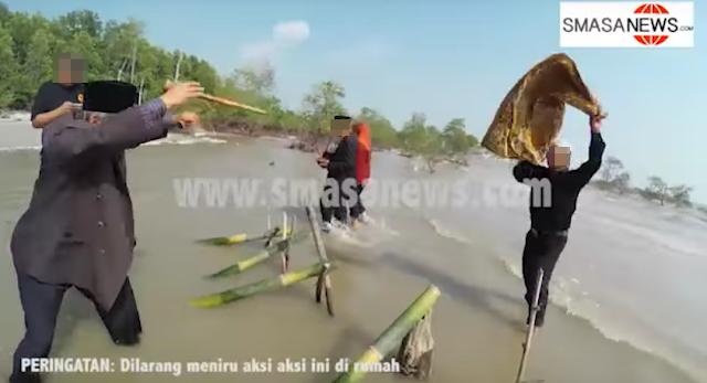 Image result for Gambar raja bomoh dan meriam buluh