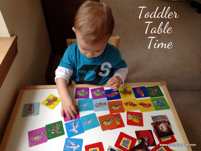 Toddler Table Time