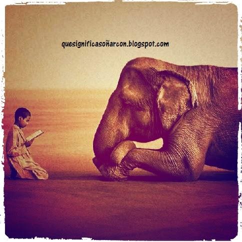 como podemos interpretar un sueño con elefantes
